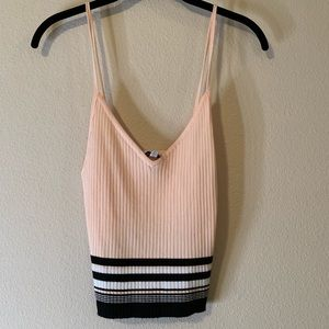 NWT Kendall & Kylie Ribbed Tank Top